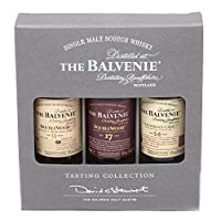 The Balvenie Single Malt Scotch Whisky Taster Gift Pack (3 x 5cl Miniature Bottles) by The Balvenie