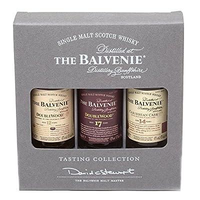 The Balvenie Single Malt Scotch Whisky Taster Gift Pack (3 x 5cl Miniature Bottles)