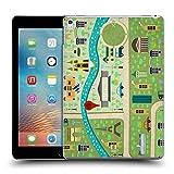 Head Case Designs Frühling In Paris Stadtpläne Ruckseite Hülle für Apple iPad Pro 10.5 (2017)