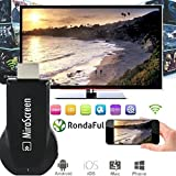 JoyFan Drahtloser HDMI-Bildschirm Spiegel Dongle Wifi 1080p Display TV Receiver Stick für IOS/Android/Windows
