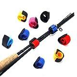 SAMSFX SAMSFX Ceintures de canne à pêche Serre-câble avec anti-boucle Porte-canne à pêche Accessoires