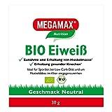 Bio Eiweiß Neutral Megamax 7 x 30 g Pulver. Organic protein powder. Für Sport und Diät. Gute Löslichkeit - angenehmer neutraler Geschmack