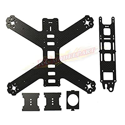 powerday®3K Carbon Fiber QAV180 Mini FPV Racing Quadcopter Drone Frame Kit