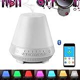SHENGY Diffuseur d'arôme de Haut-Parleur Bluetooth Intelligent, APP contrôle...