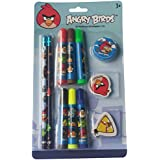 Angry Birds 11 Pcs Stationery Set, Multicolor