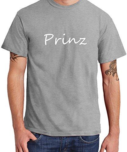 (- Prinz - Boys T-Shirt Sports Grey, Größe XXL)