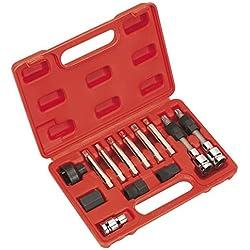 Sealey SX401 Alternator Freewheel Removal Set 13pc