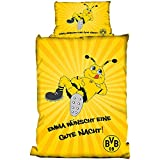 BVB / Borussia Dortmund Linon Bettwäsche Emma