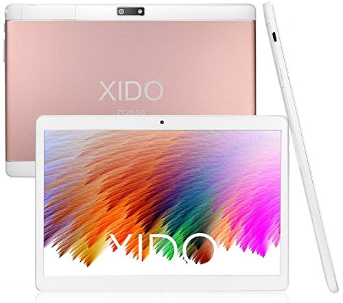 XIDO Z120/3G, Tablet Pc 10 Zoll, (10.1″), 2GB RAM, PS Display 1280×800, 3G Dual Sim, Android 5.1 Lollipop, 32GB Speicher, Quad Core, Computer Wlan (Pink)