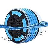 Impermeabile altoparlante bluetooth per doccia, doccia senza fili FM radio LED illuminazione altoparlante MP3utilizzato per barca/auto/docce/bagno/piscina/spiaggia/Outdoor