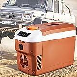SSLL Frigorifero per Auto 12 Litri di Grande capacità Frigorifero per Auto Portatile Mini Frigo Portatile Termoelettrico Camion Frigorifero Congelatore Cibo Congelatore
