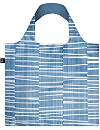 LOQI Elements Water Reusable Shopping Bag, Blue