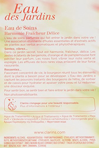 Clarins Eau Des Jardins Treatmet Fragrance 100 ml
