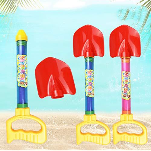Mitlfuny Auto-Modell Plüsch Bildung Squishy Spielzeug aufblasbares Spielzeug im Freien Spielzeug,Shooter Wasser Strand Wasser ToyBeach Shovel Beach Rake Spielzeug Classic & Retro Toys -