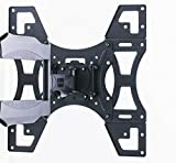 Invision Ultra Slim Tilt Swivel TV Wall Mount Bracket - For Most 26 - 60 Inch LED LCD Plasma & Curved TV Screens - Max VESA 400mm x 400mm - Now Includes 1.8m HDMI Cable (A2) Bild 8