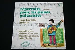 """Répertoire pour les jeunes guitaristes (Vol.2) / LP 33T 12"""""""
