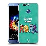 Head Case Designs Brüllen Typographie Monster Ruckseite Hülle für Huawei Honor 8 Pro