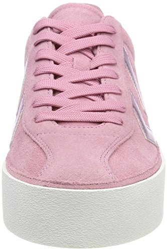 Hummel Damen Diamant Highrise Sneaker Pink (Foxglove)