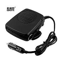 Samber Portable Car Heater Cooling Fan Automobile Heater Windshield Defroster Defogger Demister Electric Fan Heater Car Warmer Air Purifier for Car 12V (B)