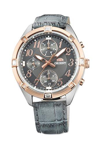 ORIENT à la mode à quartz chronographe montre pour femme Uy04005a