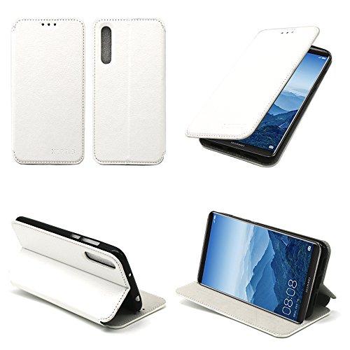 Etui-luxe-Huawei-P20-PRO-blanc-Slim-Cuir-Style-avec-stand-smartphone-2018-Housse-coque-anti-choc-de-protection-Accessoires-pochette-XEPTIO-case