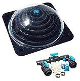 well2wellness® Pool Solarheizung Poolheizung Solar 'Powerkugel' Plus Bypass-Set Basic (023920)