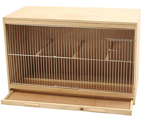 Duvo-401501-Elevage-Wooden-Rodent-Cage-for-Birds