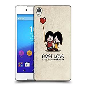 Snoogg First Love Designer Protective Phone Back Case Cover For HTC one A9