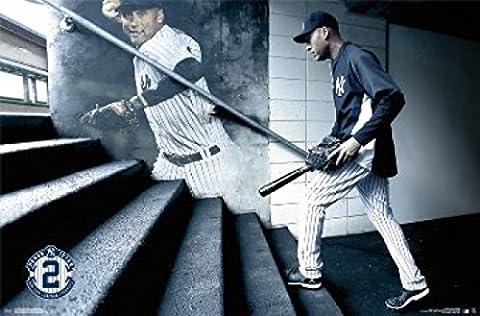 NEW YORK YANKEES Derek Jeter Retirement Poster (60.96 x 91.44