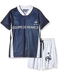 FFF EP1010 Ensemble 2 pièces de short + T-Shirt manches courtes Garçon Equipe de France