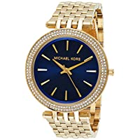 Michael Kors Womens Quartz Watch, Analog Display and Stainless Steel Strap Watch Color: Gold (Model: MK3406)