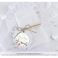 24 Flachbeutel Weiß 130 X 95 Blüten Samen Tüten Set 24