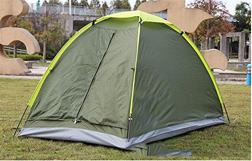 HONEYY Le Tende per Esterno Unico Campeggio Tenda a Strato Singolo Campo Tenda Prodotti Outdoor Ultra-Light Tende a 200 * 100 * 100 CM I,