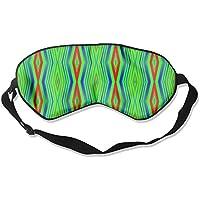 Eye Mask Eyeshade Green Pattern Sleep Mask Blindfold Eyepatch Adjustable Head Strap preisvergleich bei billige-tabletten.eu
