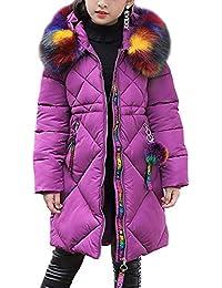 2bd0dcbe4353 Amazon.co.uk  Purple - Coats   Jackets   Girls  Clothing