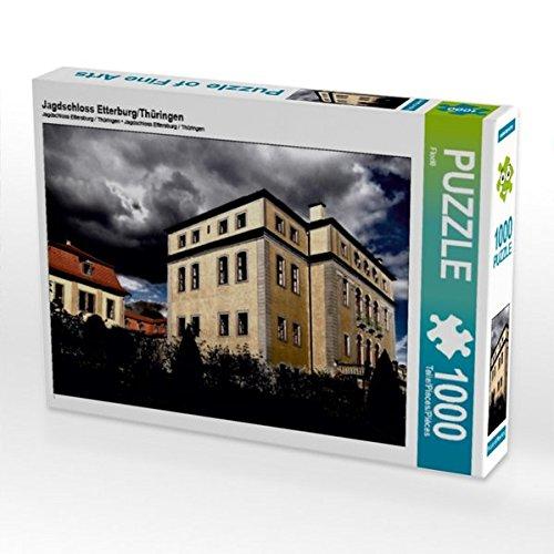 Jagdschloss Etterburg/Thüringen 1000 Teile Puzzle quer (CALVENDO Orte)