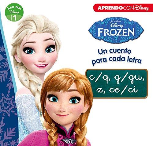 Frozen. Un cuento para cada letra c/q, g/gu, z, ce/ci. Leo con Disney. Nivel 1