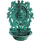 Karara Mujassme Victorian Style Cast Iron Antique Fountain (Green)