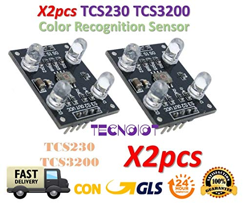 Detector Surface Mount (2pcs tcs230 tcs3200 color recognition sensor detector RGB color sensor módulos)