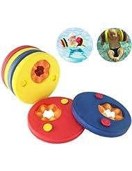 Schwimmscheiben, KingShark Schwimmscheiben Kids Schwimmhilfe Armbinden Schwimmer Discs Schaum Schwimmen Armbands