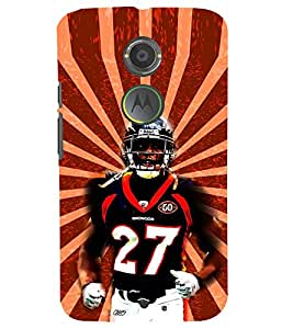 PRINTSWAG RUGBY Designer Back Cover Case for MOTOROLA MOTO X2