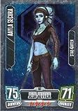Star Wars Force Attax Serie 2 Einzelkarte 197 Aayla Secura Jedi-Ritter Star - Karte deutsch