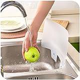 Kitchen Sink Sucker Retaining Plate Retaining Water Separator Prevent Splashing Tool Creative Kitchen Bathroom Gadgets