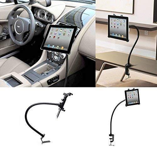 LEDELI CD Schacht KFZ Auto Tablet PC Halterung Handy Smartphone Magnethalterung Autohalterung für Armaturenbrett Kopfstützenhalterung (2 in 1 Aluminium Universal KFZ Halterung)