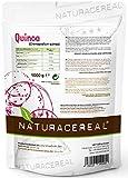 Quinoa blanca Premium - 1kg - NATURACEREAL | Mayor contenido de minerales que el arroz, | Rico en...