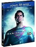 Man of Steel - Ultimate Edition Limitée - DVD + Blu-Ray + Blu-Ray 3D + Copie Numérique [Blu-ray 3D] [Ultimate Edition - Blu-ray 3D + Blu-ray + DVD + Copie digitale]