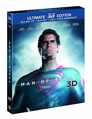 Man of Steel - Ultimate Edition Limitée - DVD + Blu-Ray + Blu-Ray 3D + Copie Numérique [Blu-ray 3D]