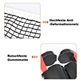 Portable Table Tennis Net, Retractable Ping Pong Net Rack Tennis Accessories Replacement Net - Extendible up to 175 cm