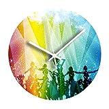 Reloj De Pared Calavera Con Ejes Cruzados Marco De Aluminio Negro Clcok Cruz De Malta Departamento De Cráneo Ative Cualquiera En La Escuela Comedor Sala De Estar Decoración Para El Hogar Oficina