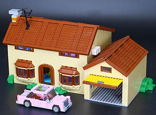 16005 Custom Bausteine Haus der gelben Kult Familie, 2523 Bausteine thumbnail